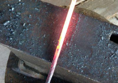Passage à la forge